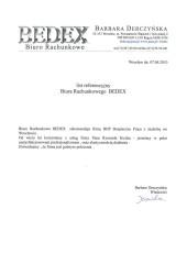 Biuro Rachunkowe Bedex
