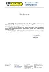 Przedsiębiorstwo Robót Telekomunikacyjnych, GAMA-TEL sp. z o.o.